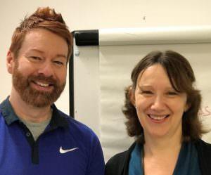 Certified instructors, Denise Golding & Zach Gomm