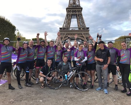 Dentons take on the London to Paris cycle ride